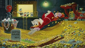 Scrooge McDuck wealth
